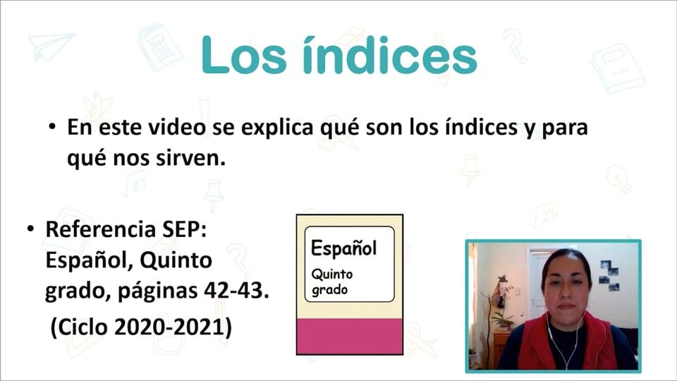 Los índices