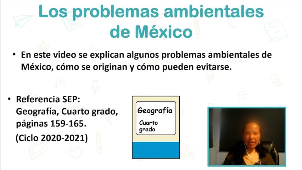 Los problemas ambientales de México